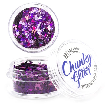 Art Factory | Loose Chunky Glitter - Fierce (10ml jar)