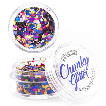 Art Factory | Loose Chunky Glitter - Fiesta (10ml jar)