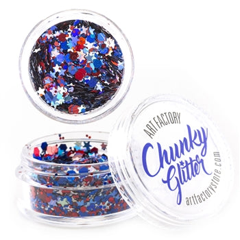 Art Factory | Loose Chunky Glitter - Fireworks (10ml jar)