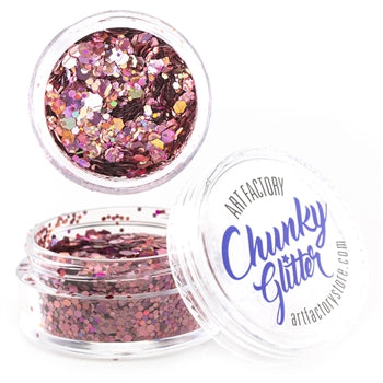 Art Factory | Loose Chunky Glitter - Flirt  (10ml jar)