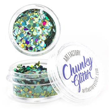 Art Factory | Loose Chunky Glitter - Mermaid (10ml jar)