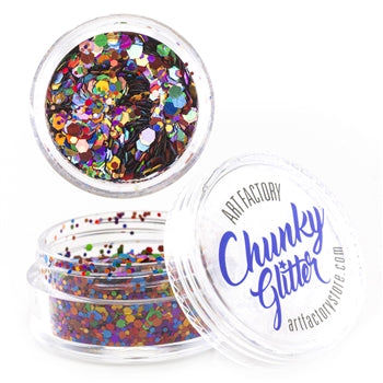 Art Factory | Loose Chunky Glitter - Rainbow Pride (10ml jar)