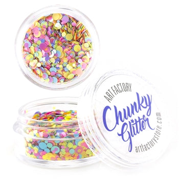 Art Factory | Loose Chunky Glitter - UV Rave (30ml jar) - Jest Paint Store