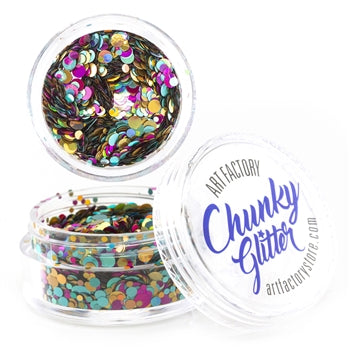 Art Factory | Loose Chunky Glitter - Unicorn Pop (10ml jar)