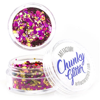 Art Factory | Loose Chunky Glitter - Vegas (10ml jar)