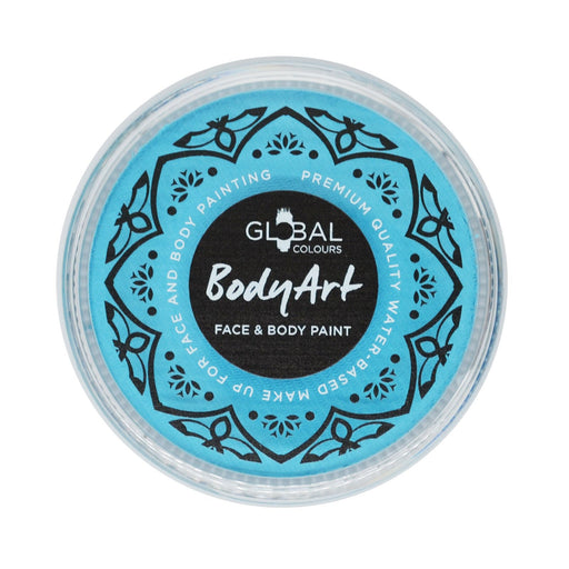 Global Body Art Face Paint - NEW Standard Baby Blue 32gr - Jest Paint Store