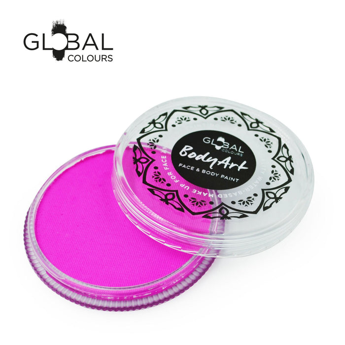 Global Colours Body Art | Face and Body Paint - NEW Standard Candy Pink 32gr - Jest Paint Store