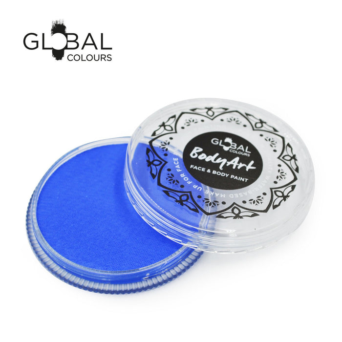 Global Colours Body Art | Face and Body Paint - Fresh Blue (32gr)