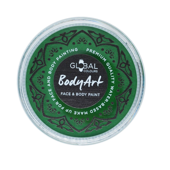 Global Body Art Face Paint - Standard Fresh Green 32gr