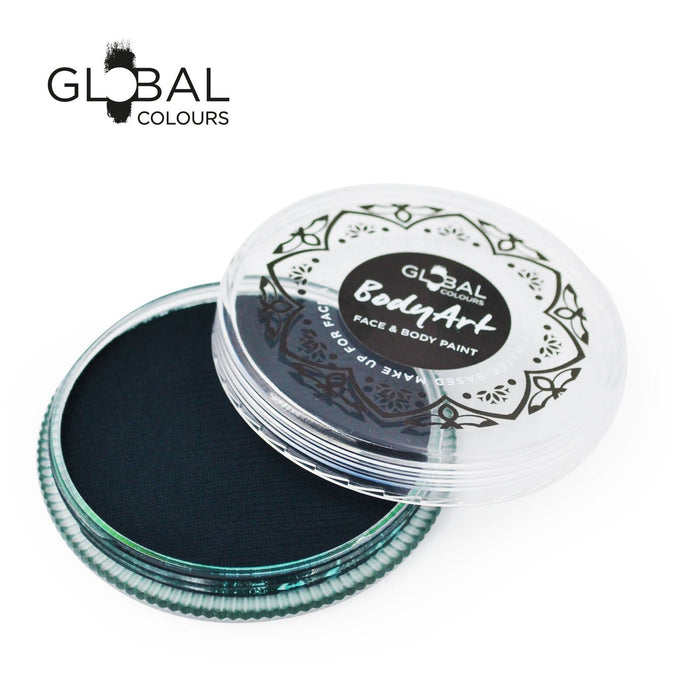 Global Colours Body Art | Face and Body Paint -  NEW Standard Green Deep 32gr - Jest Paint Store