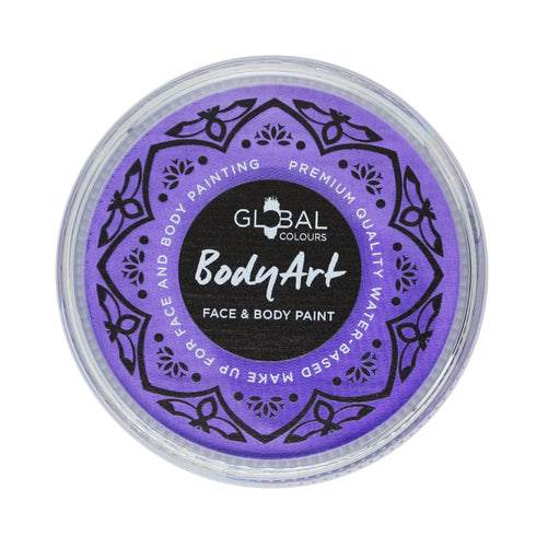 Global Colours Body Art | Face and Body Paint -  NEW Standard Lilac 32gr - Jest Paint Store