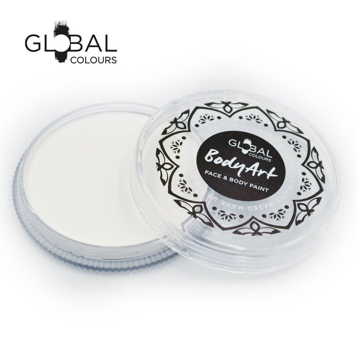 Global Colours Paint - Neon White (Clear) (32gr)