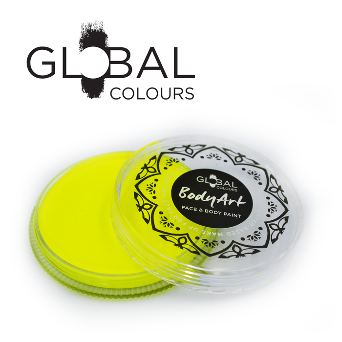 Global Colours Paint - Neon Yellow (32gr)