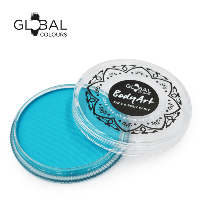 Global Colours Body Art | Face and Body Paint - Standard Teal (32gr)