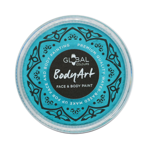 Global Colours Body Art | Face and Body Paint - NEW Standard Teal (32gr) - Jest Paint Store