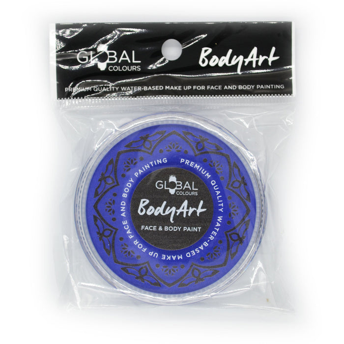 Global Colours Body Art | Face and Body Paint - NEW Standard Ultra Blue (32gr) - Jest Paint Store