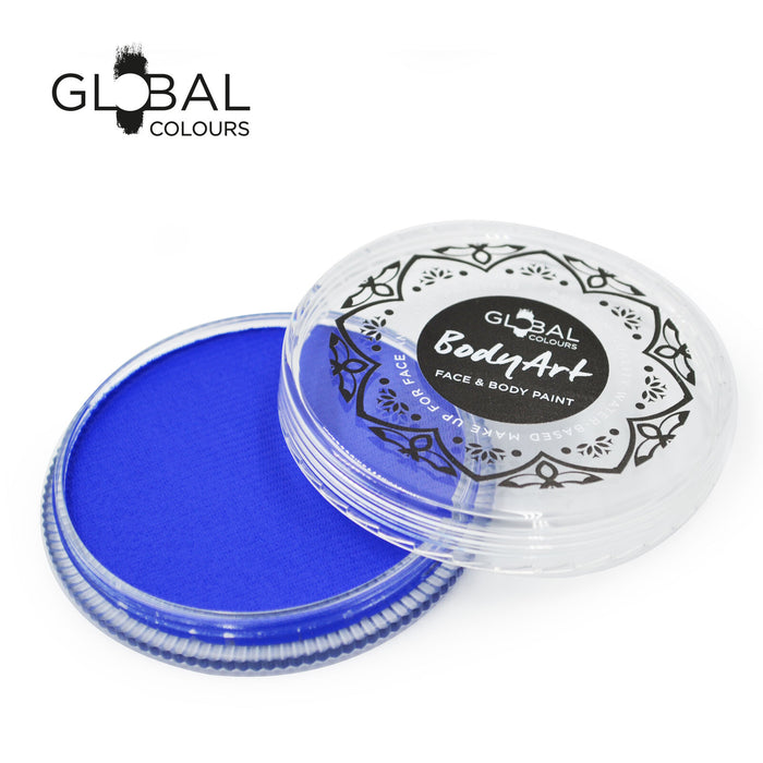 Global Colours Body Art | Face and Body Paint - Standard Ultra Blue (32gr)