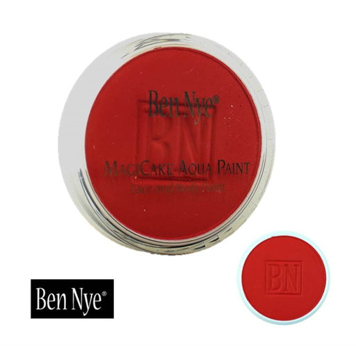 BenNye MagiCake Face Paint - Brite Red  1oz/28gr - Jest Paint Store