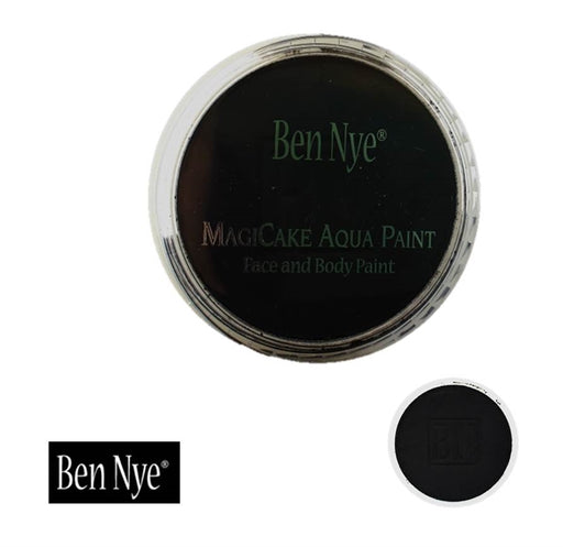 BenNye MagiCake Face Paint - Licorice Black   1oz/28gr - Jest Paint Store