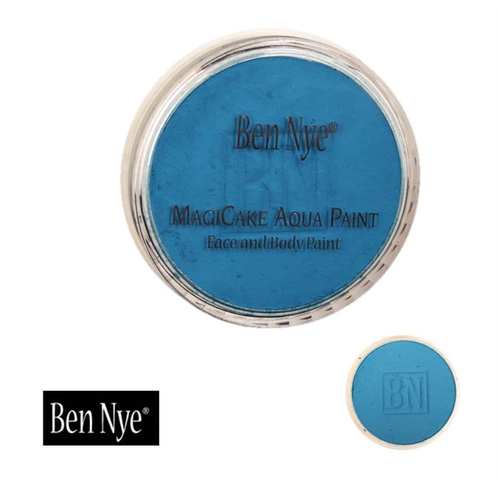 BenNye MagiCake Face Paint - Cosmic Blue   1oz/28gr - Jest Paint Store