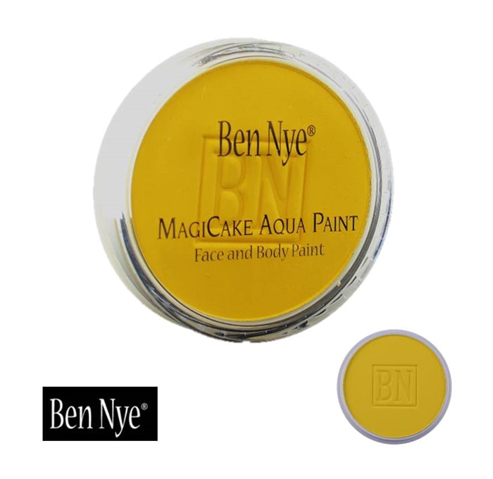 BenNye MagiCake Face Paint - Sunshine Yellow  1oz/28gr - Jest Paint Store