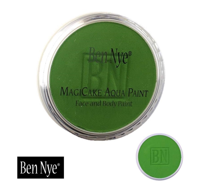 BenNye MagiCake Face Paint - Lime Green   .77oz/22gr - DISCONTINUED - Jest Paint Store