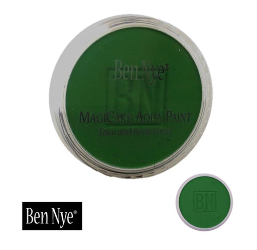 BenNye MagiCake Face Paint - Kelly Green   1oz/28gr - Jest Paint Store