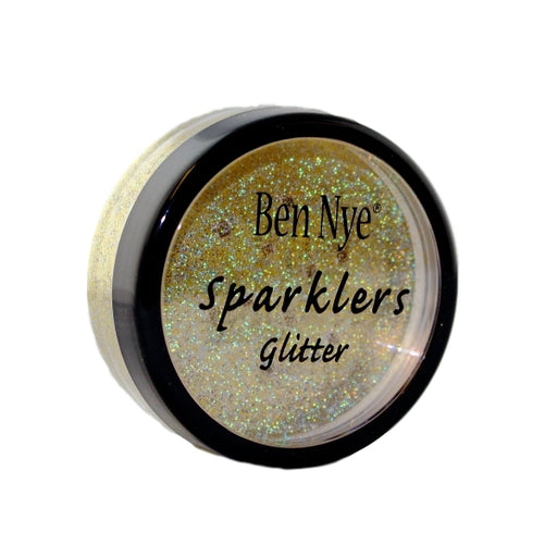 Ben Nye Sparklers Face Paint Glitter 0.56oz/16gr - Gold Prism - DISCONTINUED - Jest Paint Store