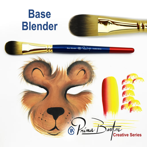 Prima Barton | Creative Series Face Painting Brush - Base Blender - Jest Paint Store