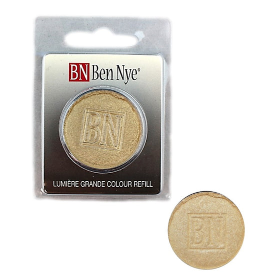 Ben Nye | Lumiere Face Paint Powder - Palette Refill - Iced Gold  3.6gr