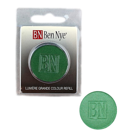 Ben Nye | Lumiere Face Paint Powder - Palette Refill - Mermaid Green  3.6gr