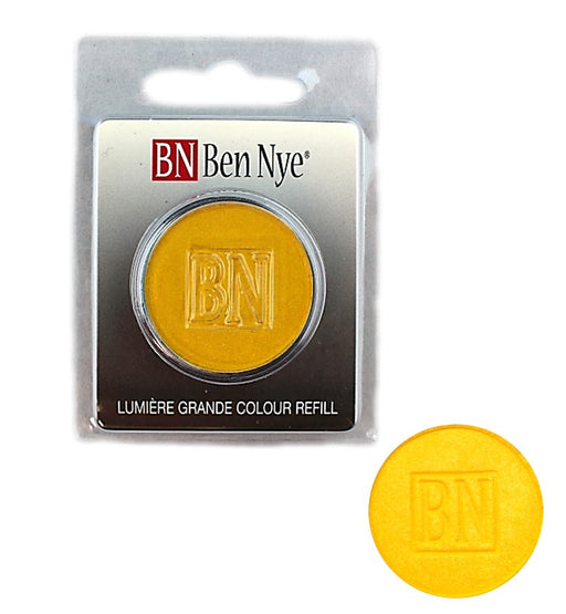 Ben Nye | Lumiere Face Paint Powder - Palette Refill - Sun Yellow  3.6gr