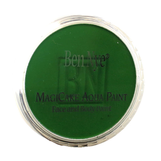 BenNye MagiCake Face Paint - Kelly Green   .77oz/22gr - Jest Paint Store