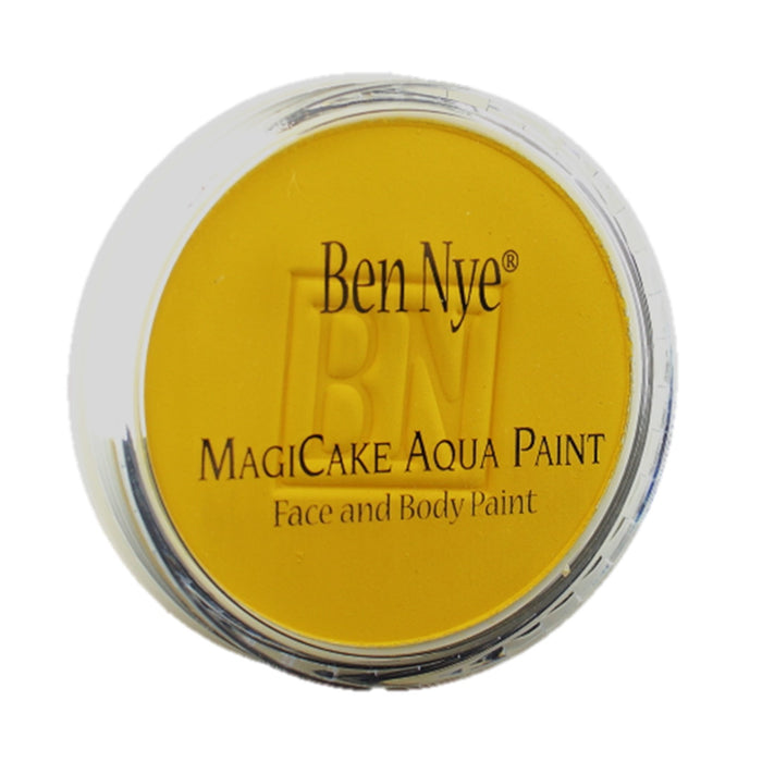 BenNye MagiCake Face Paint - Sunshine Yellow  .77oz/22gr - Jest Paint Store