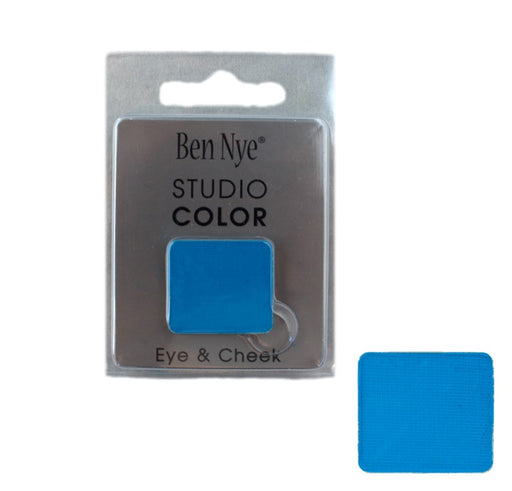 Ben Nye | Powder Face Paint - Studio Color Rainbow Refill Eye Shadow - Bahama Blue - 2 grams