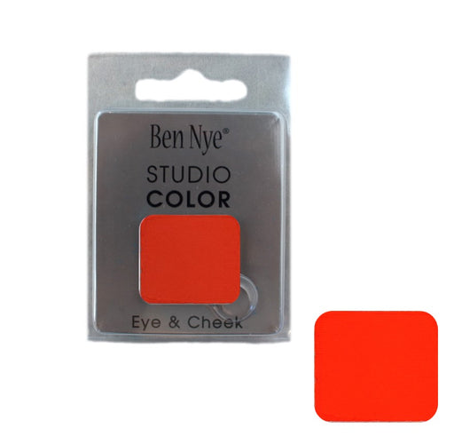 Ben Nye | Powder Face Paint - Studio Color Rainbow Refill Blush - Blood Orange - 2 grams