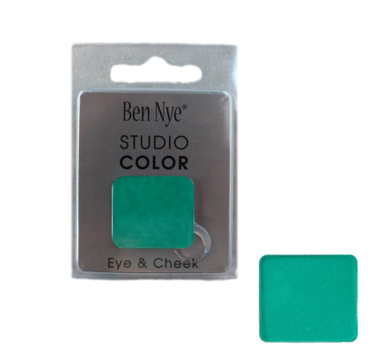 Ben Nye | Powder Face Paint - Studio Color Rainbow Refill Eye Shadow - Caribbean - 2 grams