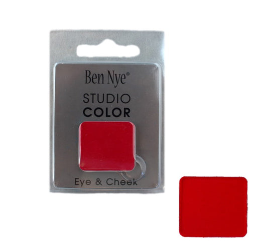 Ben Nye | Powder Face Paint - Studio Color Rainbow Refill - Flame Red - 2 grams