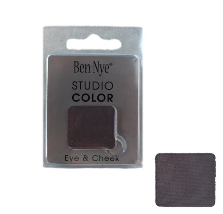Ben Nye | Powder Face Paint - Studio Color Rainbow Refill Eye Shadow - Graphite - 2 grams