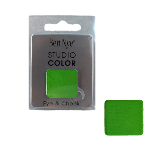 Ben Nye | Powder Face Paint - Studio Color Rainbow Refill - Green Leaf - 2 grams