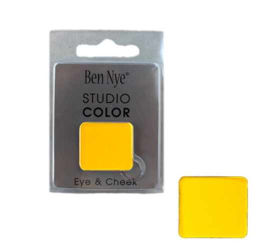 Ben Nye | Powder Face Paint - Studio Color Rainbow Refill - Lemon Yellow - 2 grams