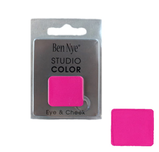 Ben Nye | Powder Face Paint - Studio Color Rainbow Refill Blush - Pink Pop - 2 grams