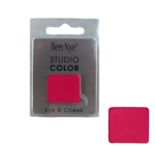 Ben Nye | Powder Face Paint - Studio Color Rainbow Refill Blush - Raspberry - 2 grams