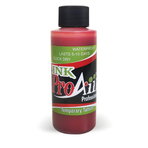 ProAiir INK Alcohol-Based Airbrush Body Paint 2oz - Blood Red