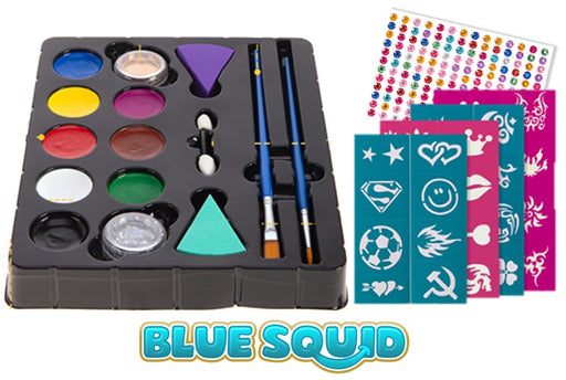 Blue Squid | KID'S Face Paint - Value Party Pack - Jest Paint Store