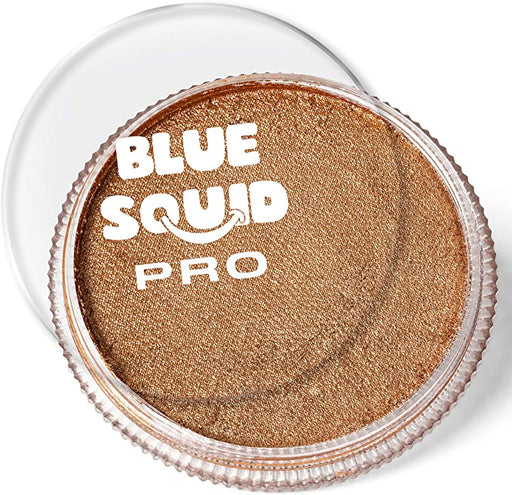 Blue Squid | PRO Face Paint - Metallic Antique Gold 30gr - Jest Paint Store