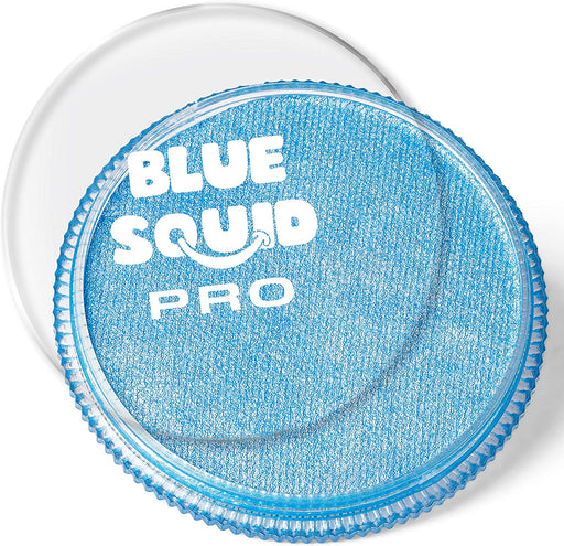 Blue Squid | PRO Face Paint - Metallic Blue 30gr - Jest Paint Store