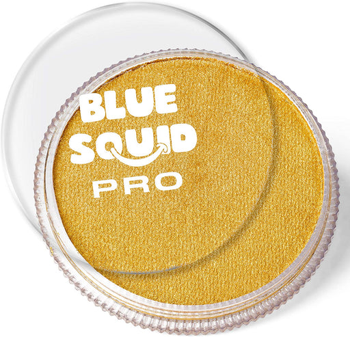 Blue Squid | PRO Face Paint - Metallic Gold 30gr - Jest Paint Store