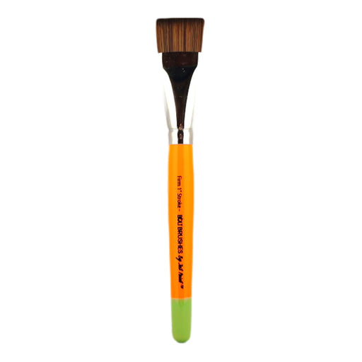 "BOLT Face Painting Brushes by Jest Paint - NEW Pointed Handle - FIRM  1"" Stroke"