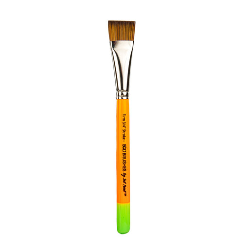 "BOLT Face Painting Brushes by Jest Paint - FIRM 3/4"" Stroke"